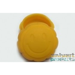 BOITE SILICONE BHO WAX SMILE - UNIVERT PRODUCTS
