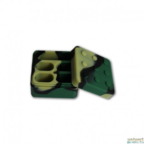 BOITE SILICONE BHO WAX CUBE - UNIVERT PRODUCTS